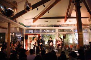 大阪中之島フラメンコイベントのステージ写真