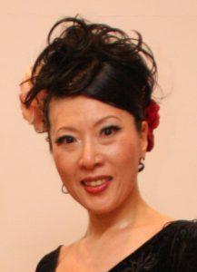 フラメンコ舞踊家岡島久子の写真