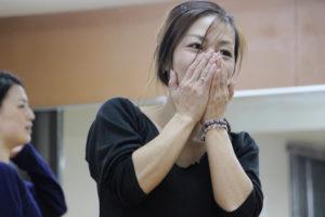 岡島久子フラメンコ教室大阪校の初心者クラスレッスン風景