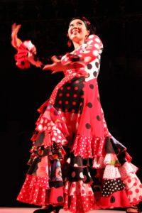 フラメンコダンサー岡島久子の写真