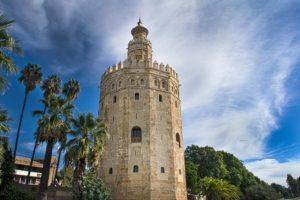 スペインセビージャの黄金の塔