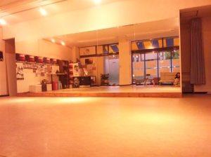 岡島久子フラメンコ教室西宮校:鳴尾スタジオの内観写真