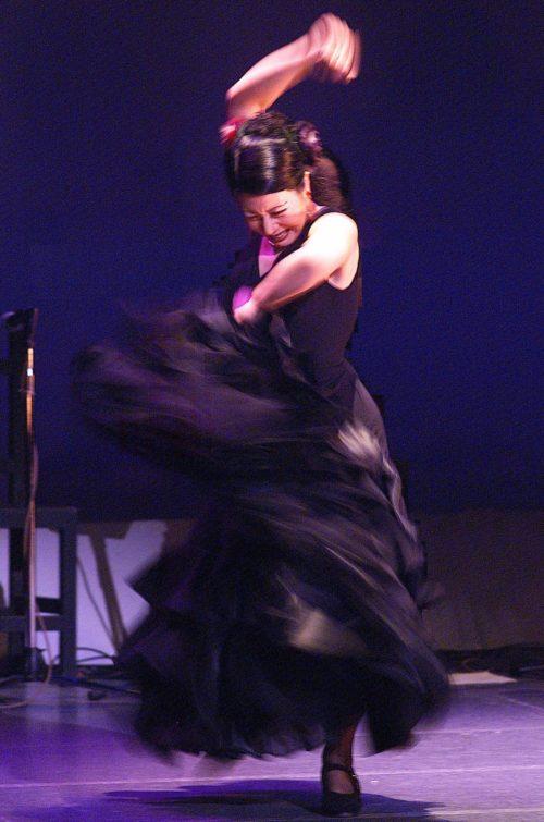 フラメンコ舞踊家岡島久子/大阪・枚方・西宮の岡島久子フラメンコ教室