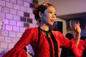 岡島久子フラメンコ教室生徒ライブ2018@大阪/ステージで踊る生徒