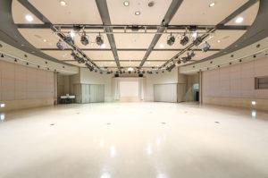 大阪天満橋ドーンセンター パフォーマンススペース内観写真